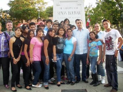 El gobernador Rangel Gómez entregó aporte de 100 mil bolívares recibió la Orquesta Sinfónica de Upata