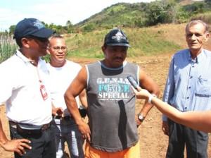 Beneficiados del Sector San Martin