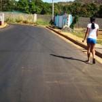 Se aplican 5 mil 080 toneladas de asfaltado en comunidad de Sierra III