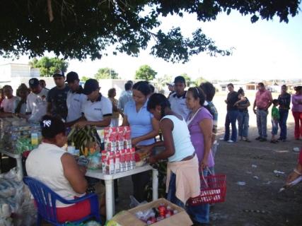 Habitantes de Manuel Piar se beneficiaron con 5 toneladas de alimentos de Mercal