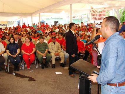 El alcalde Gustavo Muñiz, resaltó apoyo del gobierno regional a la policía.