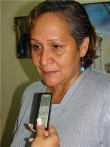 """Doctora Rosa Arévalo: """"El Alcalde cumple""""."""