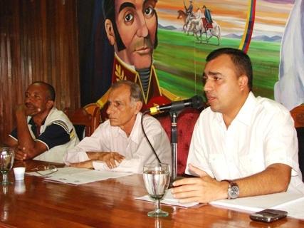 El presidente del CLPP Gustavo Muñiz Rocha