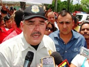 El Gobernador del estado Bolívar Francisco Rangel Gómez.