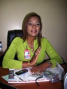 Yulimer Torres, directora de Hacienda de Piar.