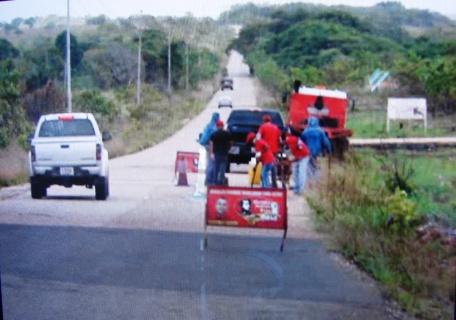 Alcaldía de Piar  inició bacheo en carretera Upata-El Manteco