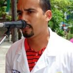 Coordinador Misión Barrio Adentro Raciel Pérez