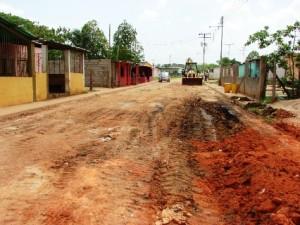 Calles de Sabanetica que seran Asfaltadas