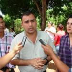 """Gustavo Muñiz """"Con estos materiales vamos a garantizar mejor servicio de agua potable"""""""