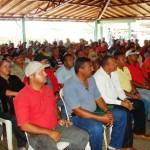 Sindicatos de la Construcción asistentes a la reunión