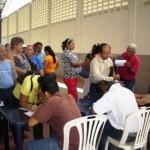 Inscripción de los voceros de consejos comunales para realizar el taller de inducción