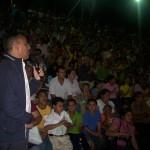 Alcalde Gustavo Muñiz felicito a los integrantes de la Orquesta por hacer este proyecto musical una realidad