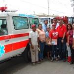 El gobernador Rangel Gómez envió ambulancia para El Manteco