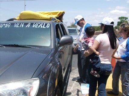 Miles de temporadistas van rumbo a la Gran Sabana.
