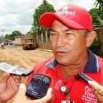 Edgar Silva coordinador del Plan de Socialista de Asfaltado en Piar