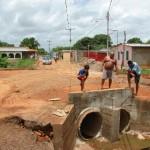 Alcaldía de Piar invirtió 90 mil Bs f en mejora de drenaje