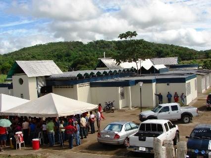 """En estas instalaciones funciona la Aldea de Encuentro doctora """"Gisela Melgar"""" para atención a las personas de la tercera edad."""