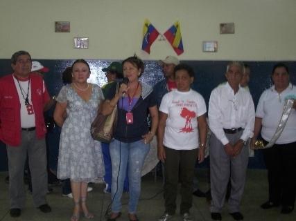 La Alcaldía de Piar de Piar y el Inass Regional compartieron con las personas de la tercera edad en Upata.