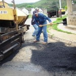 400 toneladas de asfalto se aplican en la urbanización Manuel Piar de Upata
