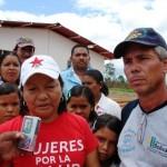 Nuvia Sosa presidente de la Junta Parroquial junto a Pedro Rujano