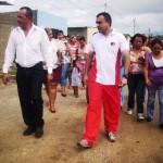 El alcalde Gustavo Muñiz inspeccionó, acompañado del tren directivo y el diputado Asdrúbal López,  vecinos, estudiantes, consejos comunales.