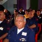 Asistentes a las Primeras Jornadas de Bomberos Voluntarios de Piar.