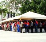 Autoridades civiles y militares se dieron cita en la Plaza Bolívar