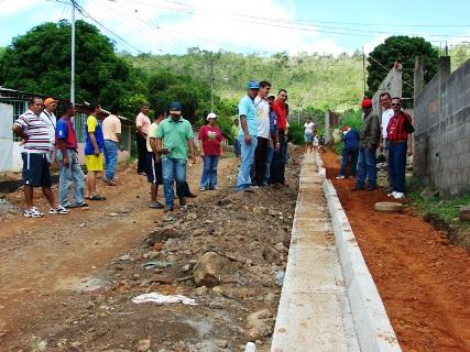 400 metros lineales se construyen en Pedregal