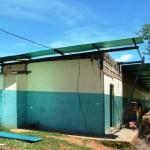 Avanza acondicionamiento de dormitorio para estudiantes de la Escuela Granja.