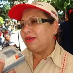 Eunice Ríos autoridad única en educación en el Municipio Piar.