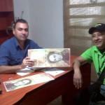 El alcalde Gustavo Muñiz dio la bienvenida a facilitadores del Banco Central de Venezuela