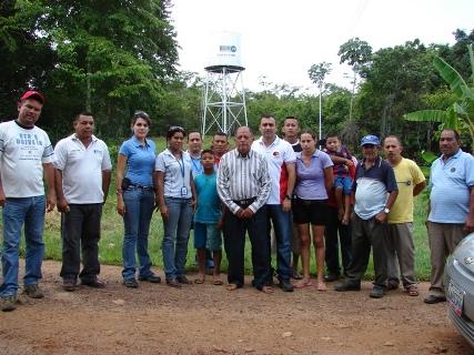 Sector Las Bombitas se beneficiará con un pozo profundo y acondicionamiento de la vialidad.