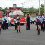 La Banda Seca del Cuerpo de Bomberos de Upata.