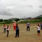 Niños participaron en las actividades recreativas.