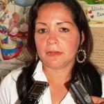 La docente de Preescolar Inés María García.