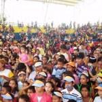 El Parque Alejandro Otero recibió a los niños de Upata.