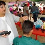 Se corto el pelo a los habitantes del sector.