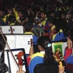 Upata celebró 248 con una Orquesta Sinfónica.