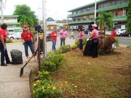 Jornada voluntaria se realizó en el Hospital Gervasio Vera Custodio
