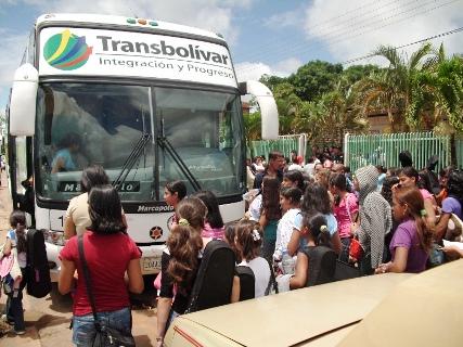 El viernes los integrantes de Fosjiu se trasladaron a Caicara del Orinoco.