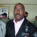 El Sargento Mayor del Ejercito Alexis Antonio López Romero