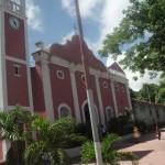 Iglesia Nuestra Señora de La Luz en Caicara del Orinoco municipio Cedeño, estado Bolívar.