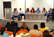 Alcaldes de los diferentes municipios estuvieron presentes. Foto Aníbal barreto