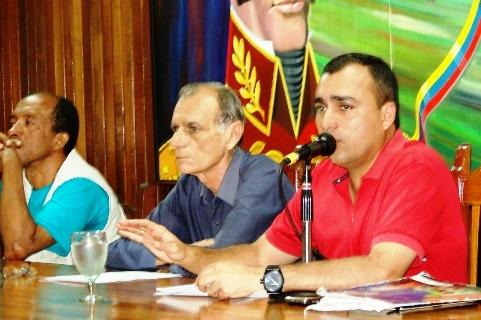El presidente del CLPP y alcalde Gustavo Muñiz presentó Plan de Inversión
