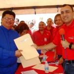 El empresario Hugo Codero recibe Terreno en Arrendamiento