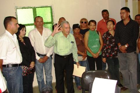 Alcalde Muñiz y autoridades de la Inspectoría del Trabajo de Ciudad Guayana inauguran Oficina del trabajo en Upata