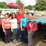 Alcalde Muñiz entregó materiales para culminación de aula en Santa María