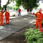 Cuadrilla de la Fundación Yocoima apoya con la limpieza