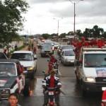 El pueblo de Upata, salió a la calle a dar respaldo a la candidata Ornella Arbeláez.
