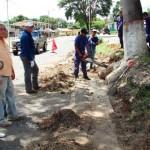 Consejo Comunal La Laguna inició construcción de brocales